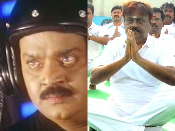 Yoga training couldn't help Vijayakanth