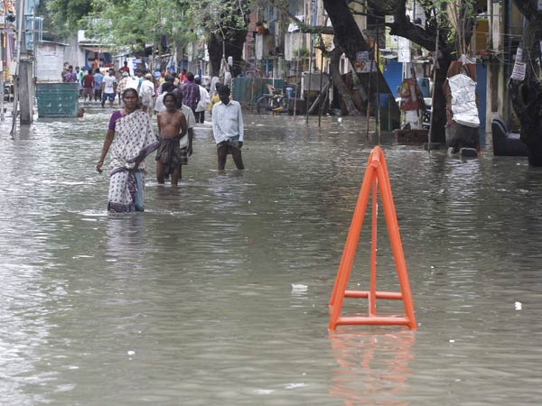 Rivers in Spate as Heavy Rains Continues to Pound Tamil Nadu