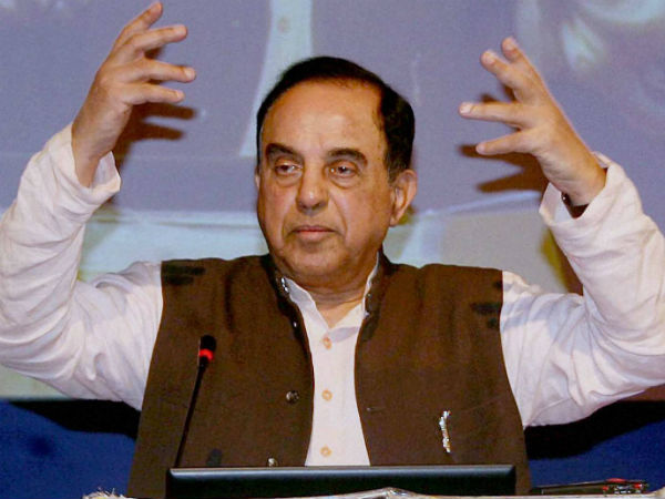 Subramanian swamy opposes to Central fund to TN