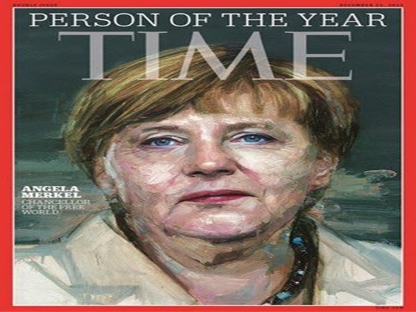 German chancellor Merkel named Time's 'Person of the Year'2015