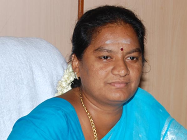 Sasikala Pushpa AIADMK MP Removal from the post of secretary of the Women's wing