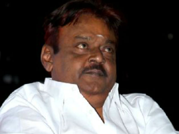 Puzhal authorities denied permission to Vijayakanth to meet his party MLA