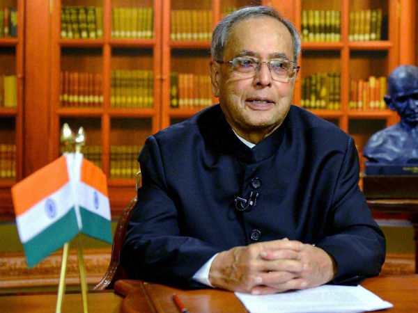 Peace cannot be discussed under shower of bullets: President Pranab Mukherjee