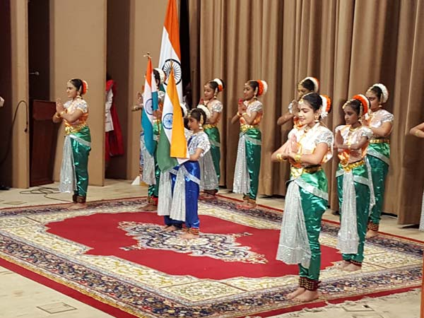 Indian republic day celebrated in Muscat, Riyadh