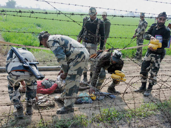 BSF guns down 4 smugglers near Pak border, recovers 10kg heroin