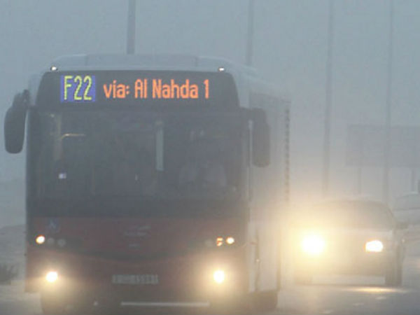 Dubai fog impact: 136 accidents in 3 hours