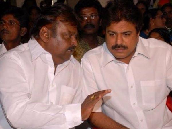 தேமுதிக வேட்பாளர்கள் தேர்வு: விஜயகாந்திடம் பட்டியலை ஒப்படைத்த சுதீஷ்   7  members committee select DMDK candidates - Tamil Oneindia
