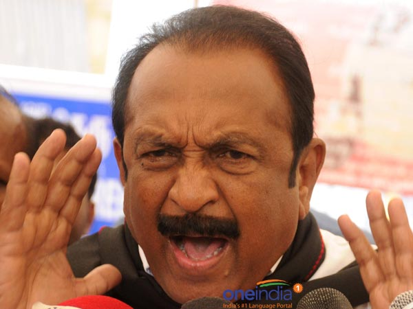 M.K.stalin can't escape from the 2G issue: Vaiko