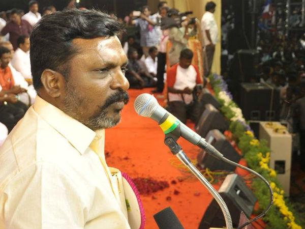 Viduthalai Chiruthaigal secretary seeks police protection!