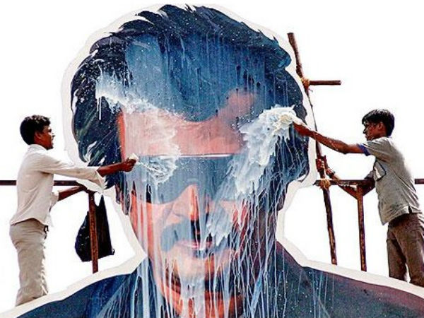 Court orders Rajinikanth fans not to pour milk on his cutouts