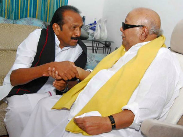 Image result for Vaiko with karunanidhi