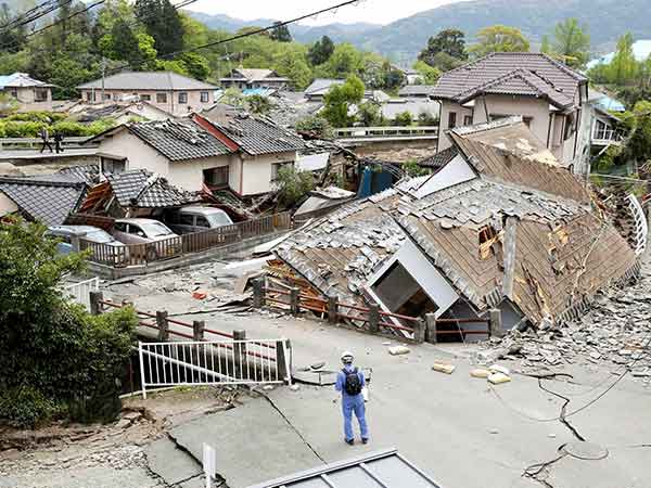 Japan earthquake: Rescue under way after 7.3 tremor