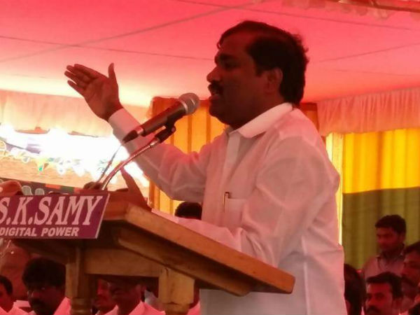 TVK to go it alone in assembly polls: Velmurugan