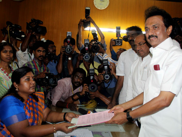 M.K.Stalin says his business in serving people