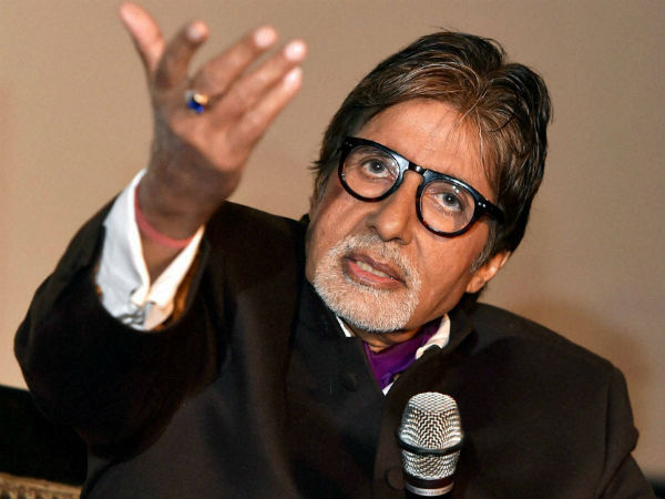 Congress targets Amitabh Bachchan over Modi government event