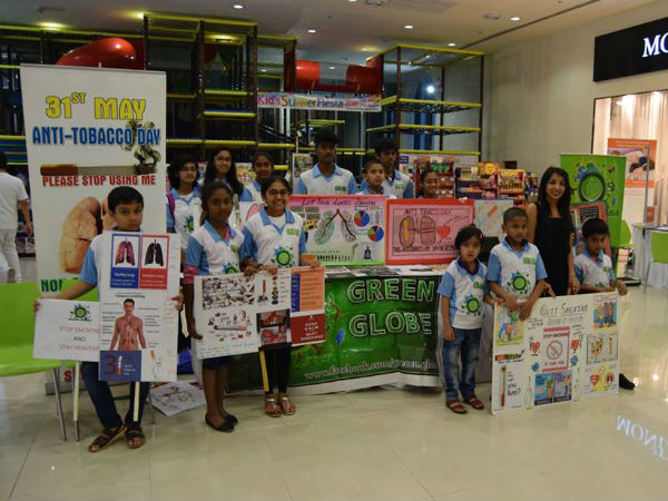 School students create awareness about smoking in Dubai
