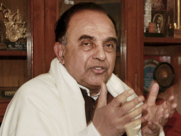 I could do abolish income tax in seven days,says Subramanian Swamy