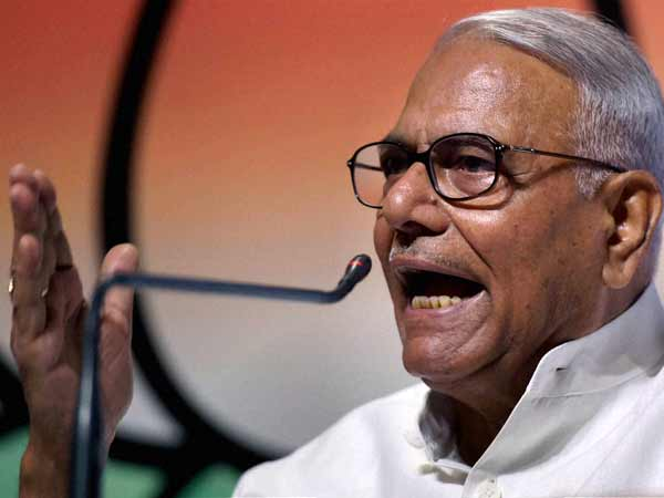 Yashwant Sinha hits out at Modi Govt.