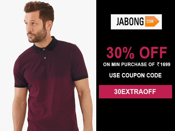 30% offer in Jabong
