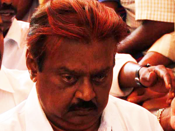 Road accidents have become common in TN: Vijayakanth