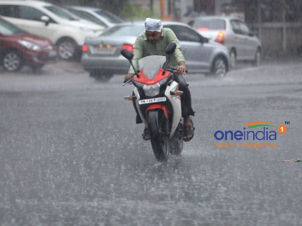 Met Office issues warnings of heavy rain for Chennai