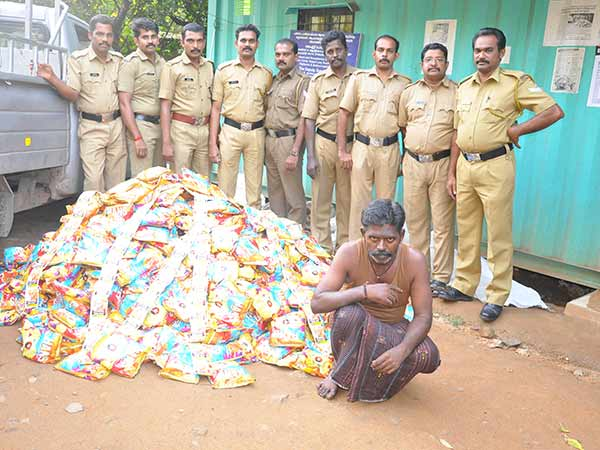 15 lakhs worth drugs seized by the police
