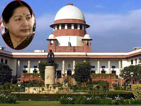 Learn to face criticism- SC tells Jayalalithaa