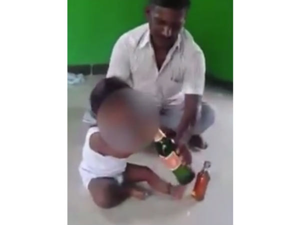 Chennai : Babies forced to drink alcohol