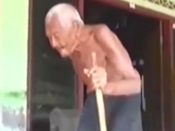 உலகிலேயே அதிக வயதானவர் இந்தோனேஷியாவில் வாழ்கிறார்... அவருக்கு வயது 145!