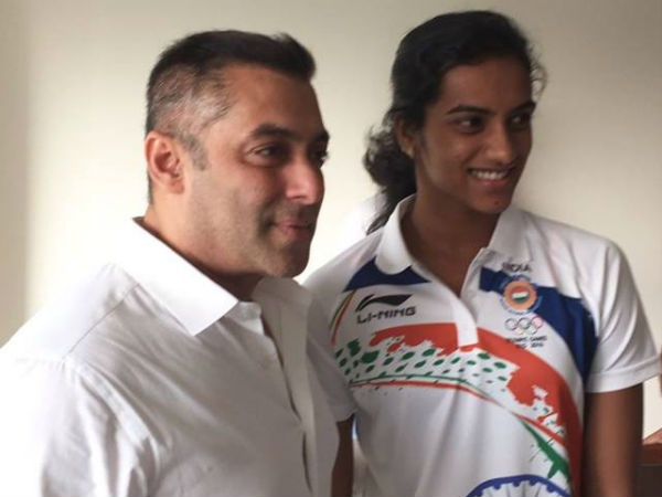 This is what Salman Khan told his mother while watching PV Sindhu's badminton final match!