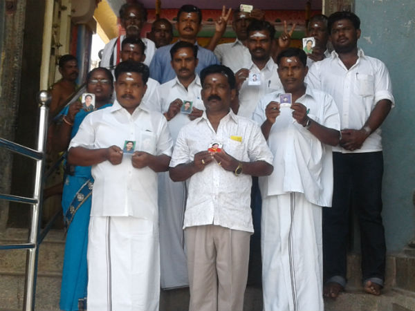 AIADMK workers pray for Amma's health