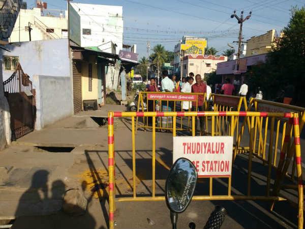 சசிகுமார் கொலை எதிரொலி.. கோவை கலவரத்திற்கு காரணமான 108 இந்து முன்ணியினர் கைது