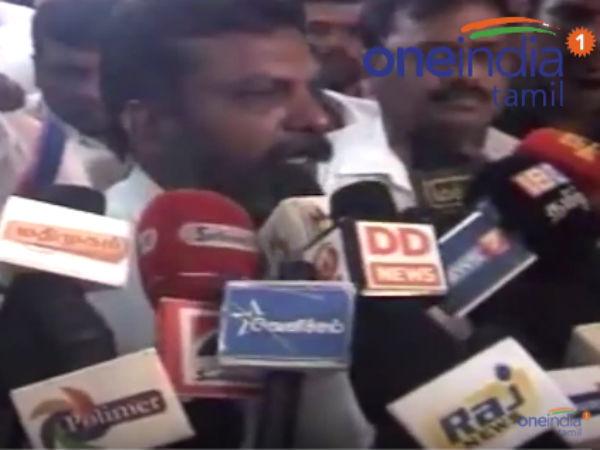 உள்ளாட்சித் தேர்தல் தொகுதிப் பங்கீடு நடப்பதாக திருமா பேட்டி- வீடியோ