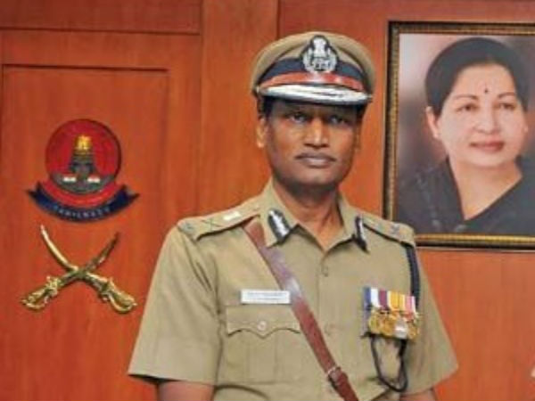 Chennai CoP TK Rajendran posted as DGP