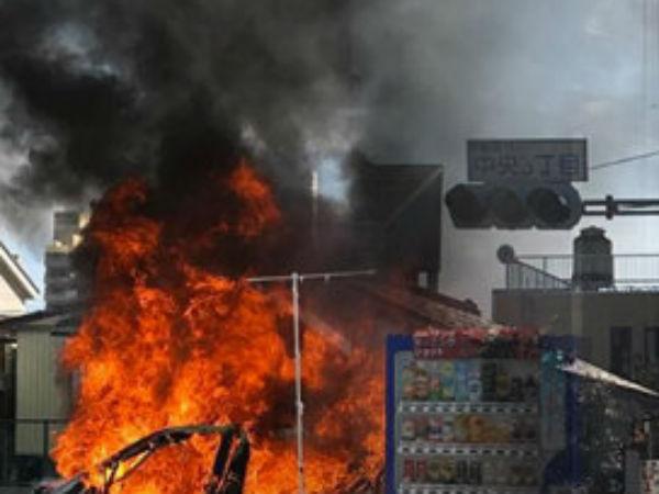 ஜப்பான் பூங்காவில் இரட்டை குண்டுவெடிப்பு: ஒருவர் பலி, 3 பேர் காயம்