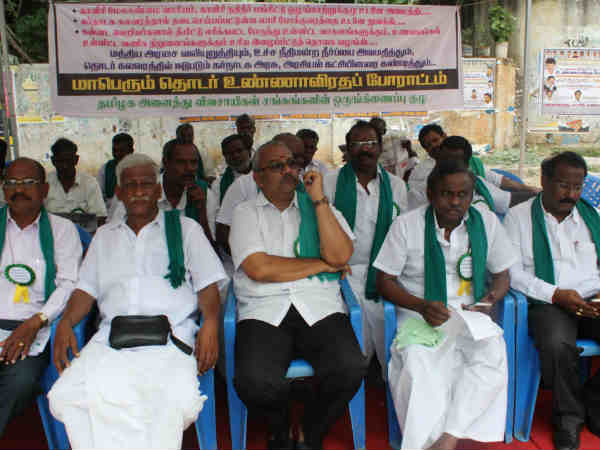 Farmers starts hunger strike