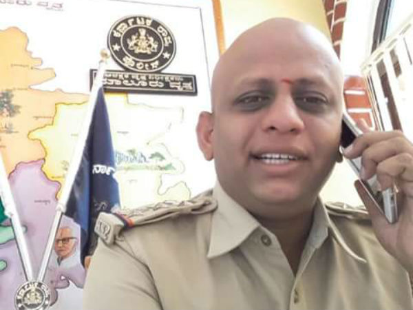 Police officer comitted suicied in Karnataka police station