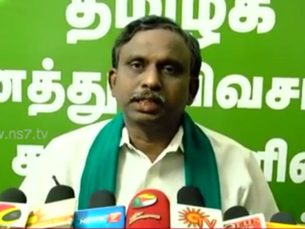 All parties should come forward for cauvery says P.R. Pandian