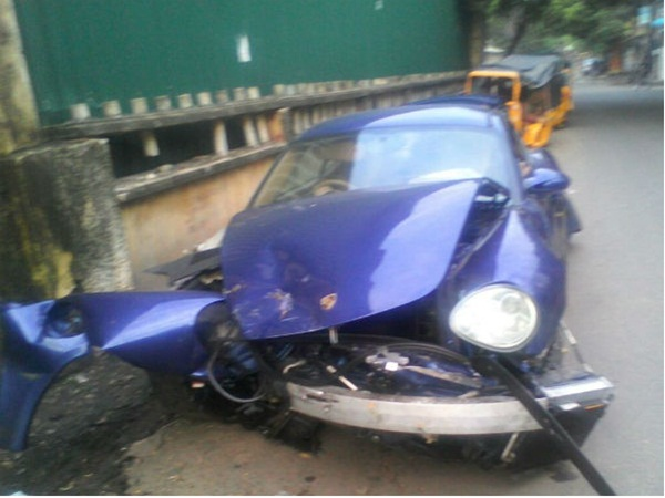 Porsche car accident, vikash anand gets conditional bail