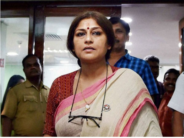 Roopa Ganguly of Mahabharat fame now RS MP