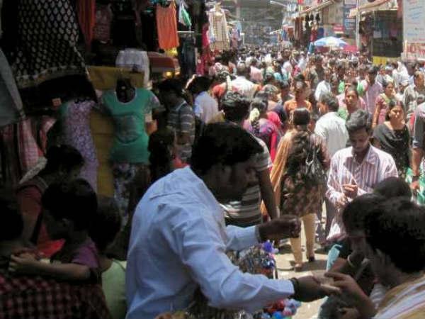 மக்கள் கடலாக மாறிய ஜவுளிக் கடைகள்.. தீபாவளி வியாபாரம் விறுவிறு #diwali