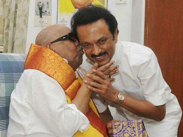 Stalin is my political heir, says Karunanidhi in an interview