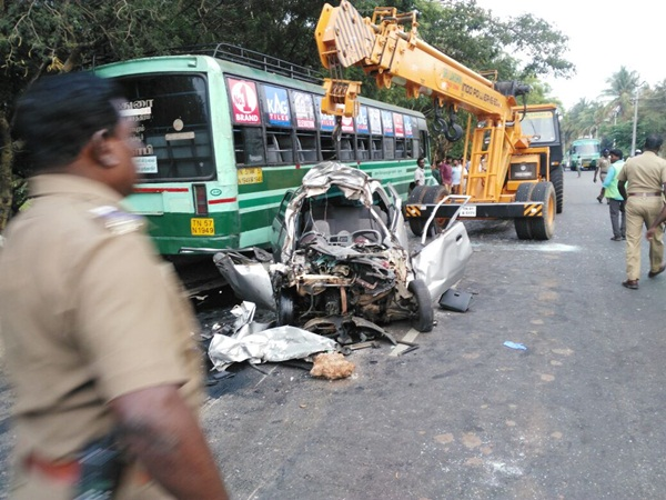Three killed in accident on Tirupur