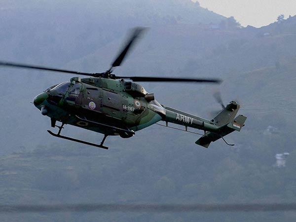 Army chopper crashed : 3 officials killed