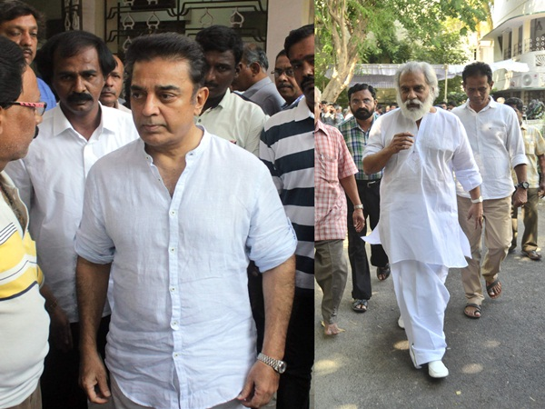 singer Yesudoss and Kamal Haasan are his ardent admirers.