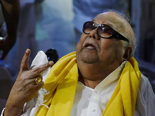 Karunanidhi condole the death of Fidel Castro