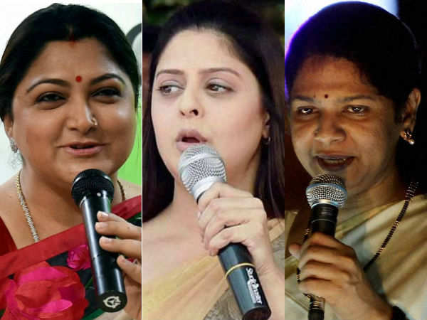 Why Kushboo, Kanimozhi missed by election campaign?