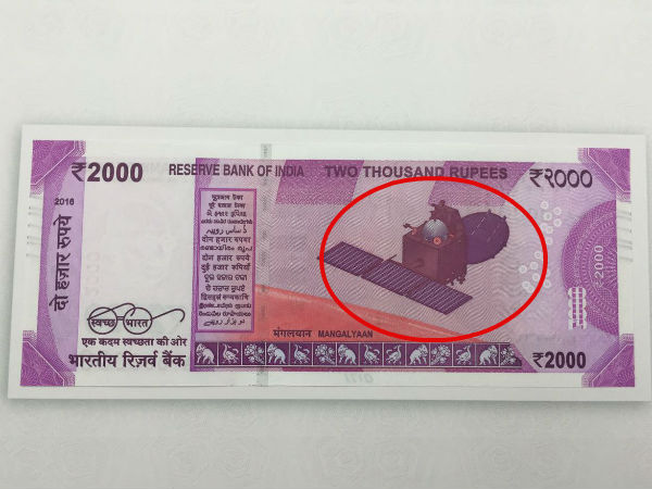 Mangalyan finds place in News Rs 2000 currency