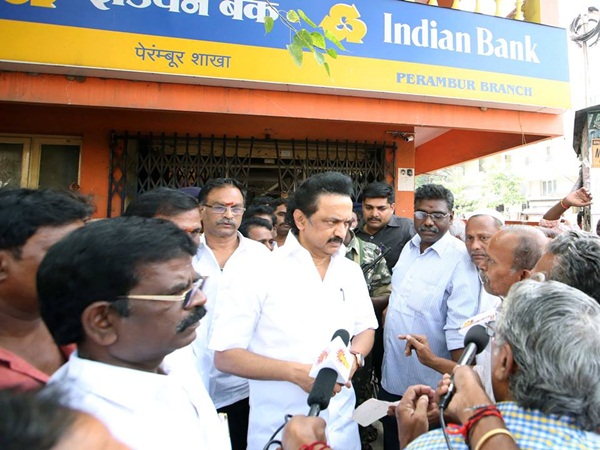 stalin today visit Villivakkam constituency