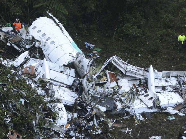 Colombia Flight crashed due to ''fuel Problems''
